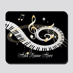Personalized Piano Musical gi Mousepad