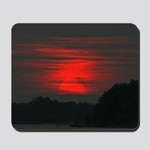 Niagara River Sunset Mousepad