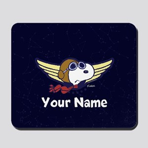 Snoopy Ace Personalized Mousepad