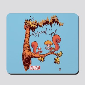 Squirrel Girl Branch Mousepad
