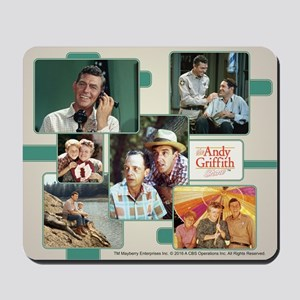 Andy Griffith Collage Mousepad