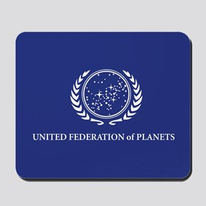 United Federation of Planets Flag Mousepad