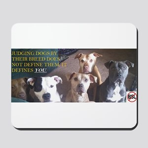 Pitbull Judgement Mousepad