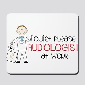 Quiet Please Mousepad