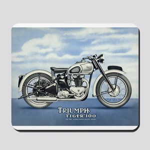 1948 Triumph Tiger 100 Mousepad