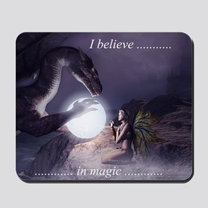 I believe in Magic (v1a) Mousepad