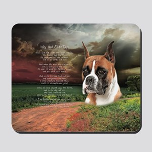 godmadedogs(oval) Mousepad
