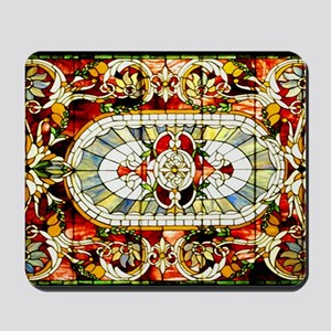 Regal-Splendor-Stained-Glass-laptop-slee Mousepad