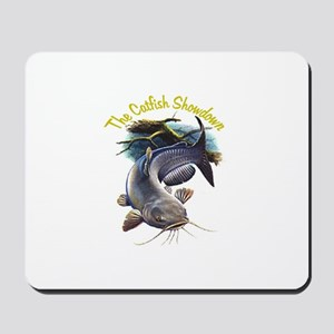 The Catfish Showdown Logo Mousepad