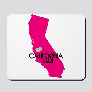 CALIFORNIA GIRL w HEART [4] Mousepad