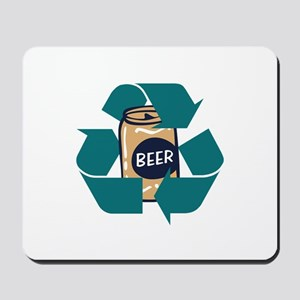 Recycle Beer Mousepad