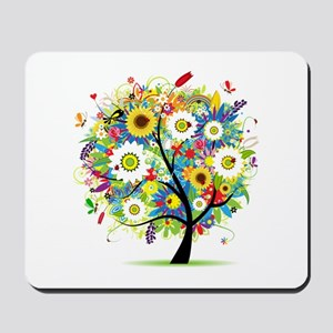 summer tree Mousepad