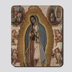 Virgin of Guadalupe. Mousepad