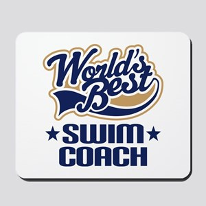 Swim Coach Mousepad