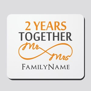 Gift For 2nd Wedding Anniversary Mousepad