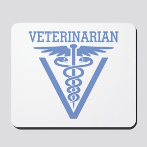 Caduceus VET (Veterinarian) Mousepad