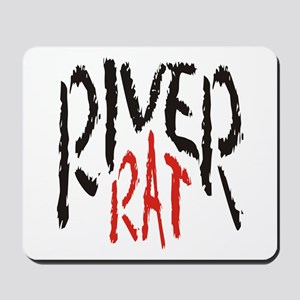 Poker River Rat Mousepad