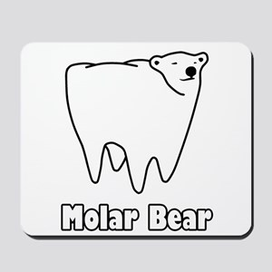 e9dae0064 Molar Bear Polar Tooth Bear Mousepad