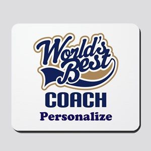 Personalized Coach Mousepad