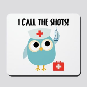 Owl Nurse Mousepad