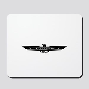 Ford Thunderbird Black Bird Logo Mousepad