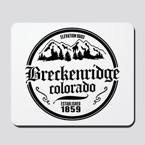 Breckenridge Old Circle Mousepad