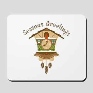 Seasons Greetings Mousepad