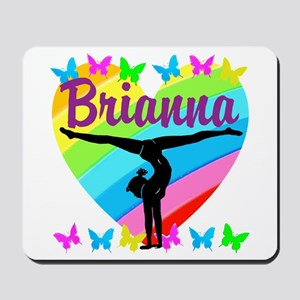 PERSONALIZE GYMNAST Mousepad