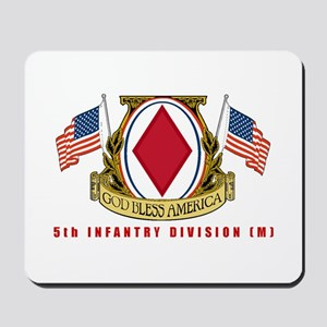 5th INFANTRY DIVISION Mousepad