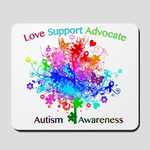 Autism Tree in Spectrum Mousepad