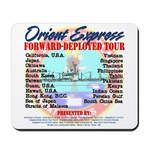 Forward Deployed Tour Mousepad