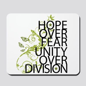 Obama Vine Half - Over Division Mousepad