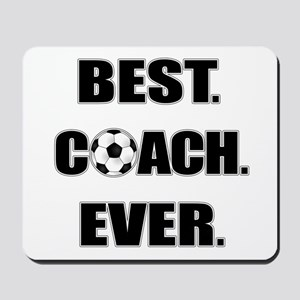 Best. Coach. Ever. Black Mousepad