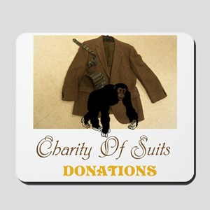 Charity Of Suits. Donations. Tgws Mousepad