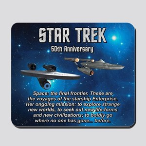 50TH FINAL FRONTIER Mousepad