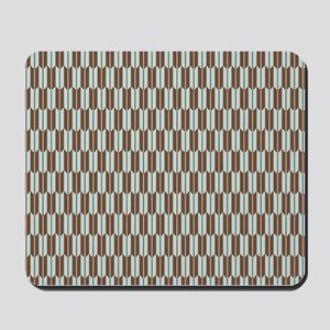 Abstract Arrow Tile Pattern Mousepad