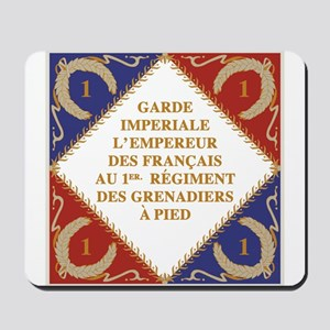 Napoleon's Guard flag Mousepad