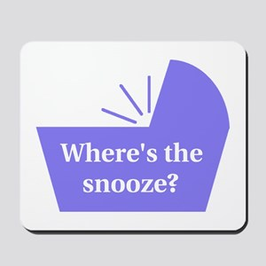 Baby Snooze Button Mousepad