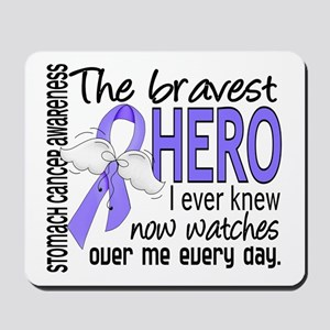 Bravest Hero I Knew Stomach Cancer Mousepad