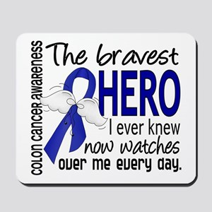 Bravest Hero I Knew Colon Cancer Mousepad