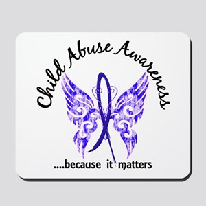 Child Abuse Butterfly 6.1 Mousepad