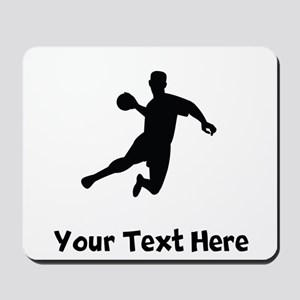 Dodgeball Player Silhouette Mousepad