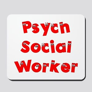 Psych Social Worker Mousepad