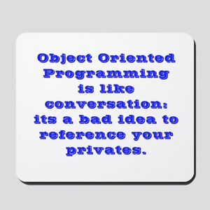 Obejct Oriented Programming Mousepad