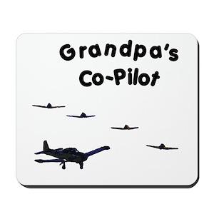 3199adde Aviation Mouse Pads - CafePress