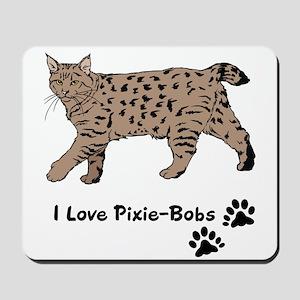 Polydactyl Cat Paw Pixie Bob Bobcat Mouse Pads - CafePress
