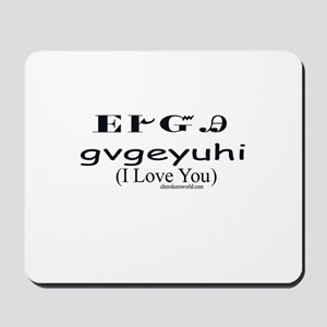 Cherokee Language Mouse Pads - CafePress