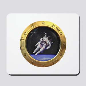 Space Porthole Mousepad
