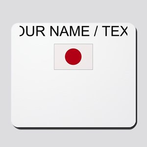 Custom Japan Flag Mousepad