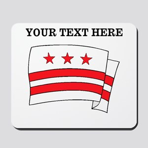 Custom Washington DC Flag Mousepad
